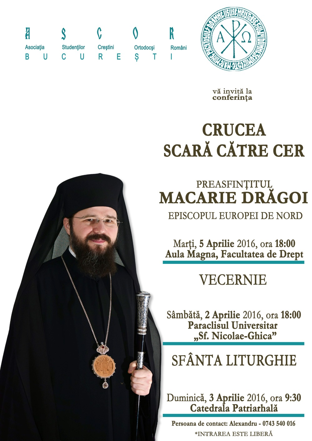 Afis - Preasfintitul Macarie